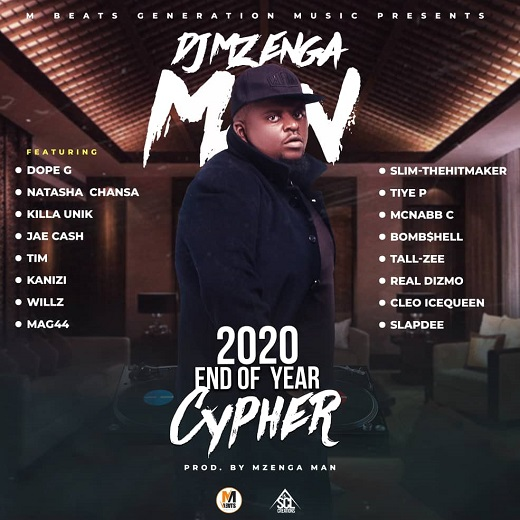 DJ Mzenga Man-2020 End Of The Year Cypher.